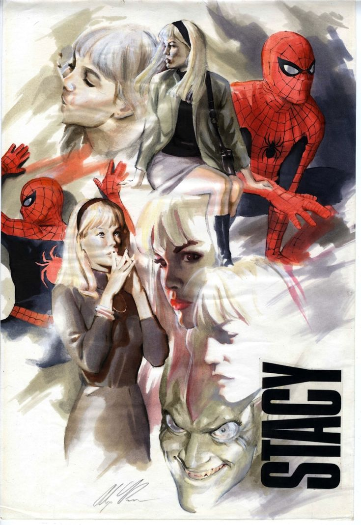 Marvels Gwen Stacy Study , in Weng Keong Tam's New Acquisitions - 2012 Comic Art Gallery Room - 904394