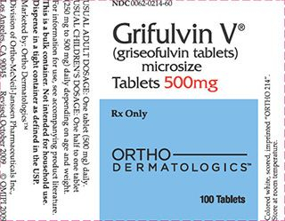 Grifulvin V (Griseofulvin) is used for treating fungal infections of the scalp, body, foot (athlete's foot), nails, thigh (jock itch), or hair follicles (barber's itch). Grifulvin V is an antifungal agent. It works by making the skin more resistant to fungal growth.