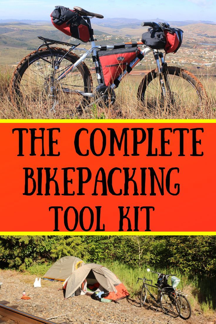 The Ideal Bikepacking Or Bicycle Touring Tool Kit And Spare Parts