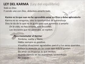 Karma        U na noche pregunte al Universo que es Desapego  Amanecí riéndome de todo, de todos y de mismo  A est...