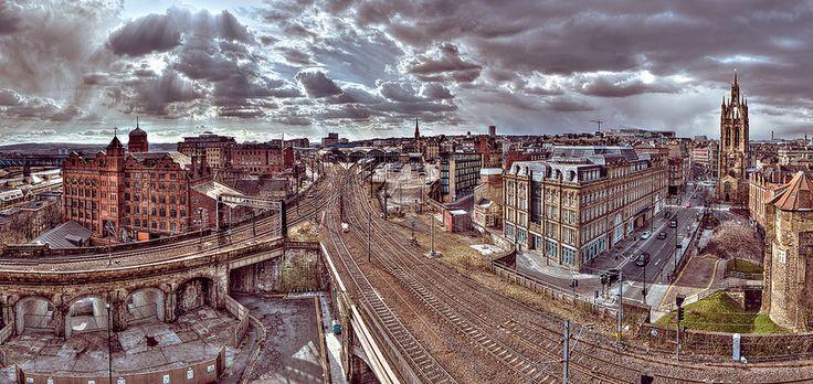 Newcastle Castle Keep West