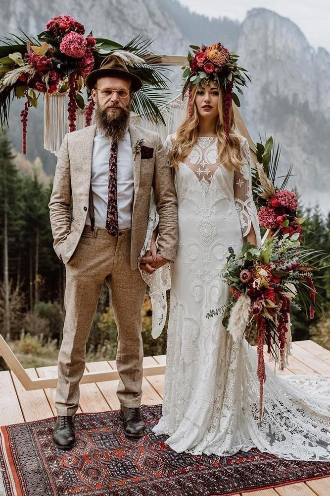 online sale find lowest price select for official 33 Charming Boho Groom Attire Ideas to Love | Themed Wedding ...