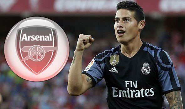 James Rodriguez to Arsenal: Arsene Wenger plots bid for Real Madrid star - report   via Arsenal FC - Latest news gossip and videos http://ift.tt/2sP22GG  Arsenal FC - Latest news gossip and videos IFTTT