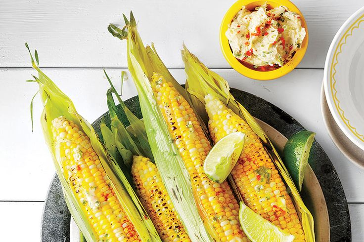 Recipe: Chili lime buttered corn on the cob