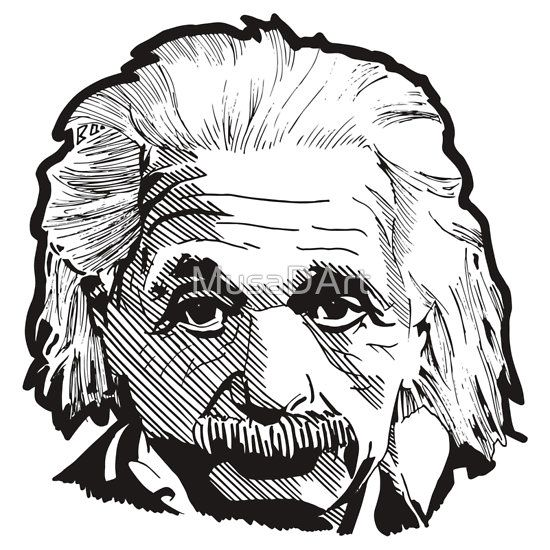 Albert Einstein Illustration LIMITED TIME: 20% OFF – USE CODE: WEEKEND20 . Time is running out people. Great Discount.