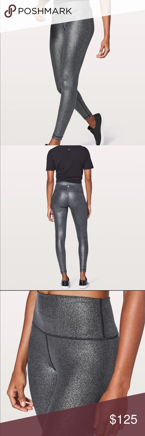 Lululemon FOIL Wunder Under Leggings size 4 New with tags! Sold out online! Foil leggings in perfect condition, size 4! Only selling because I accidentally bought 2 pairs! Feel free to make an offer! lululemon athletica Pants Leggings