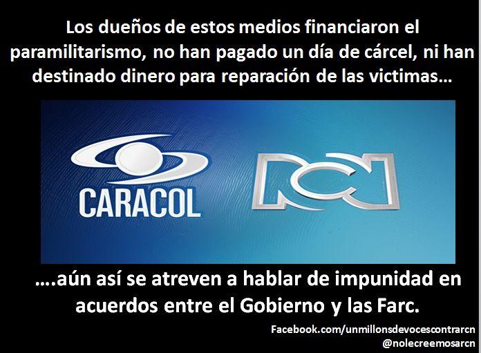 #LeydeMedios - UN MILLON DE VOCES CONTRA RCN