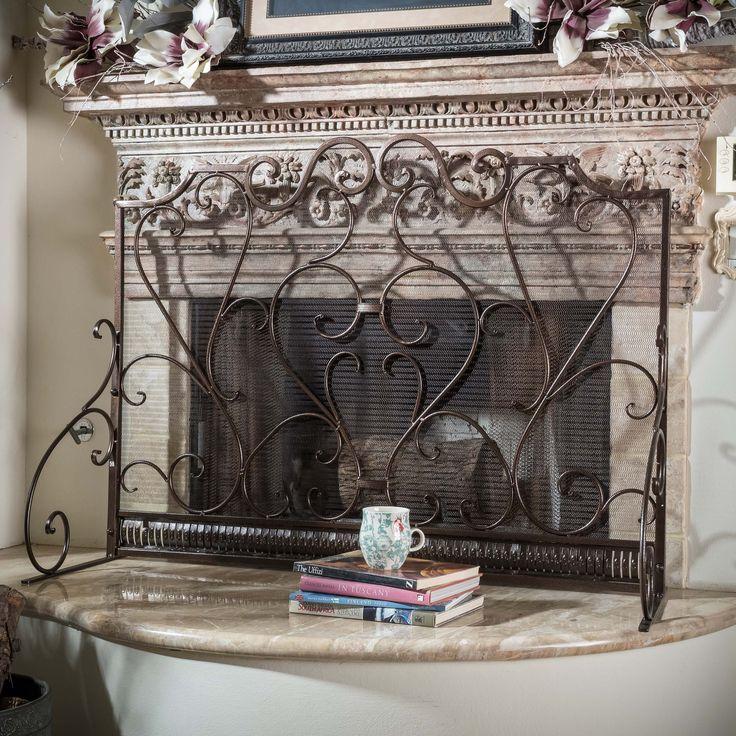 Fireplace Design metal fireplace screen : Top 25+ best Wrought iron fireplace screen ideas on Pinterest