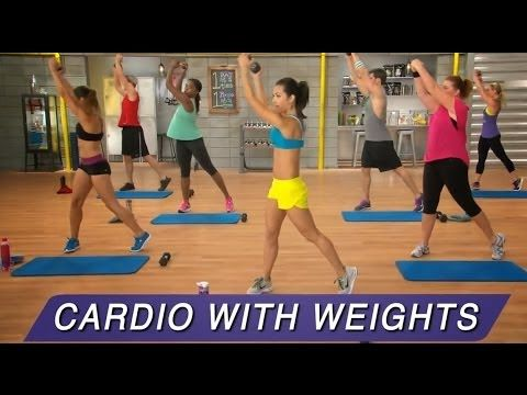 21 Day Fix Total Body Cardio Fix Review with the Boys too - YouTube