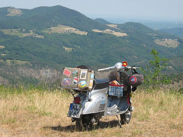 #Vespa #trip 2009 #Liguria