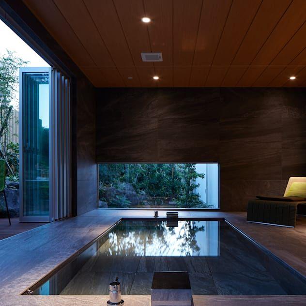 リゾートホテルのような暮らしが楽しめる家5選 Homify 2020 高級邸宅 住宅 浴室 デザイン