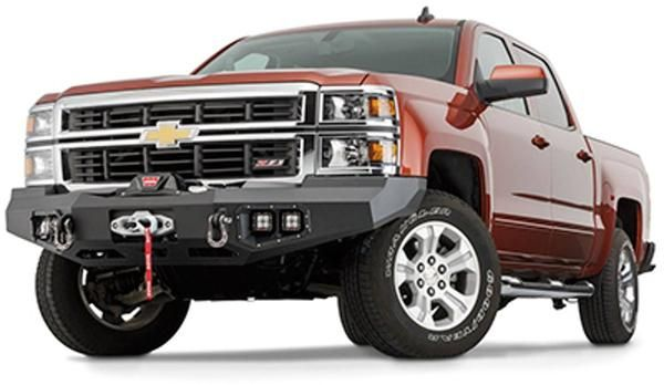 WARN Ascent 2016 Chevy Silverado 1500 Front Bumper Hot Deals! Find it here at BUMPERONLY.COM
