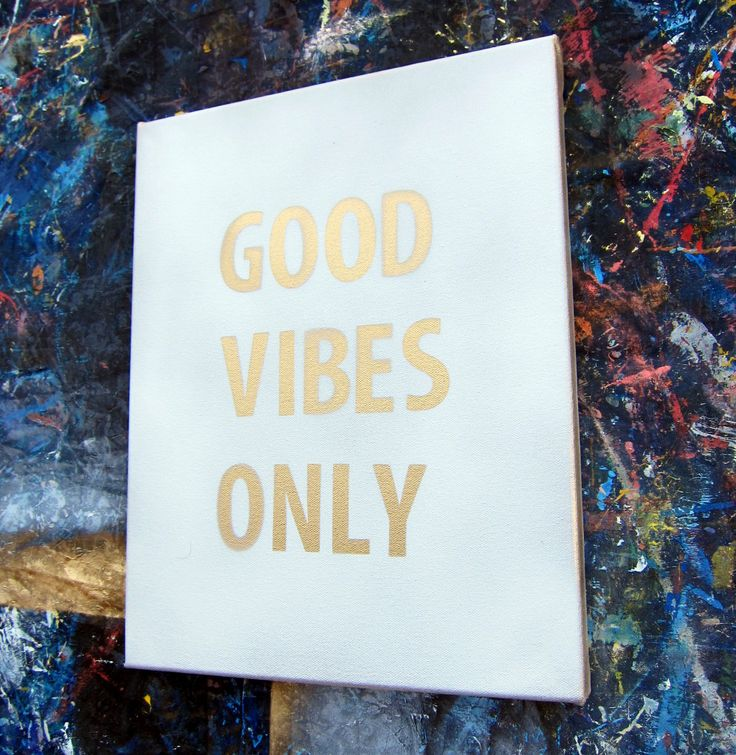 DIY Spray Paint Quote Canvas                                                                                                                                                     More