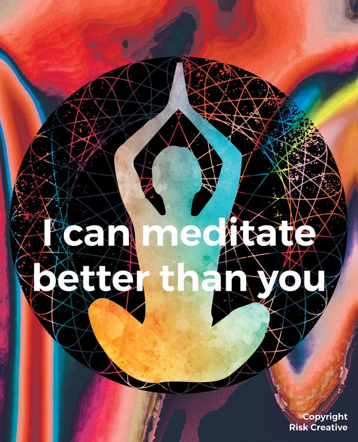Competitive meditation: It's possible and good for you! Click through to learn more.  #meditation #muse #museheadband