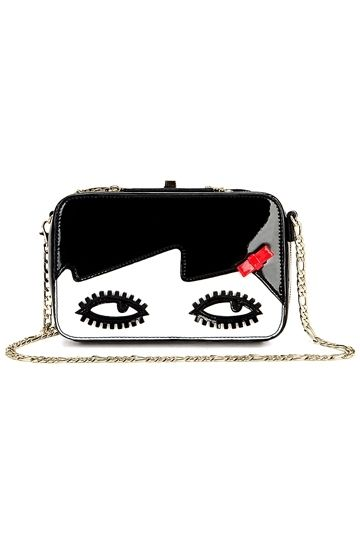 #persunmall Charming Eyes Color Block Clutch