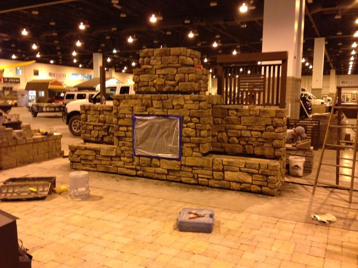 convert coal fireplace to wood