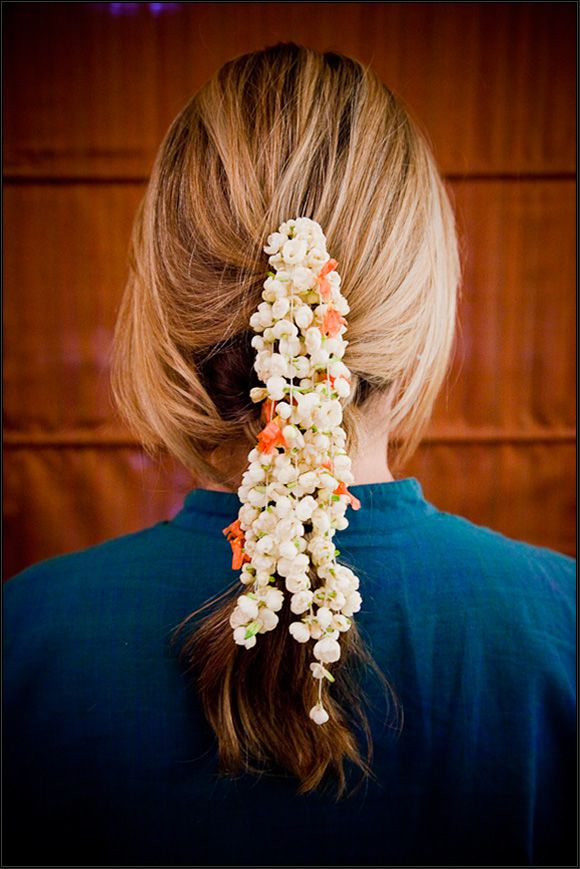 arabian jasmine Hair garland