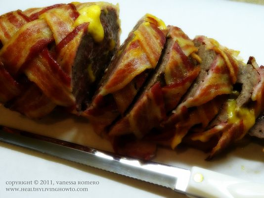 #LowCarb Cheeseburger Bacon Roll Shared on https://www.facebook.com/LowCarbZen