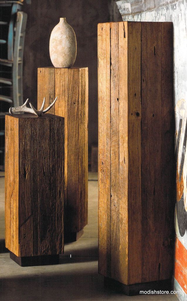 Roost Reclaimed Wood Tables & Pedestals – Modish Store
