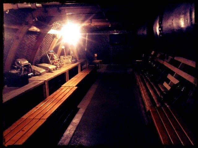 """Expozice důlních záchranářů byla hodně zajímavá a tak trochu """"temná"""" :)"""