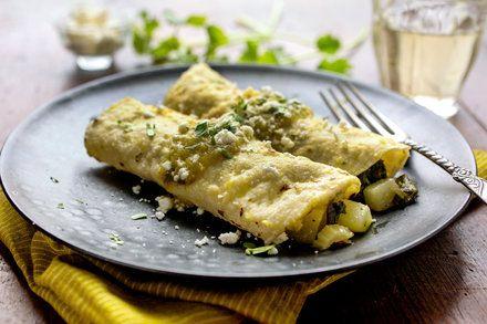 Enchiladas, Light Yet Satisfying - NYTimes.com