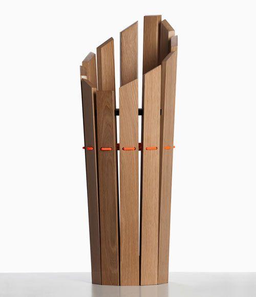 London Undercover Oak Umbrella Stand by Method Studio    Read more at Design Milk: http://design-milk.com/london-undercover-oak-umbrella-stand-by-method-studio/#ixzz2O8BZuKml