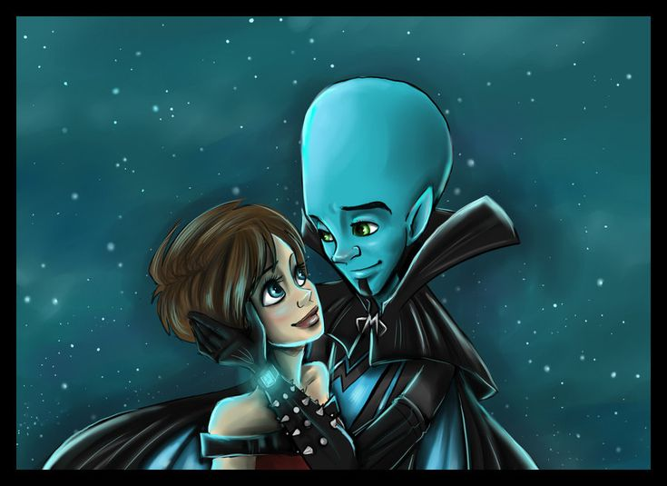 I Want You by sharpie91.deviantart.com - Megamind and Roxanne