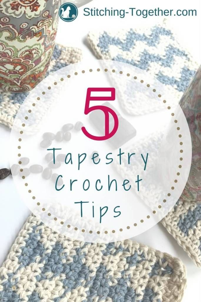 Tapestry Crochet Tips | Crochet | Croché, Tejidos, Mochilas