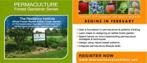 Permaculture Forest Gardener Series: Introduction to Permaculture @ The Resiliency Institute | Naperville | Illinois | United States