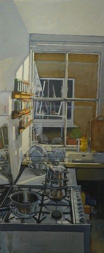 Peter Fleming - Kitchen Sink Painting
