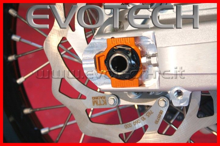 Chain adjuster orange ktm