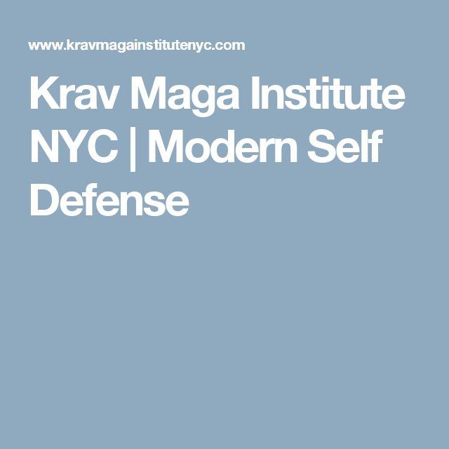 Krav Maga Institute NYC | Modern Self Defense