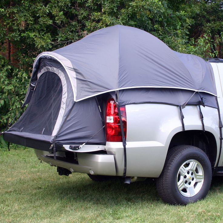 Features:  -Includes a seam-sealed rain fly with attached awning.  -Fits the following pickup trucks: Chevy Avalanche, Cadillac EXT.  -Patented, sewn-in polyethylene floor keeps the comfort in and the