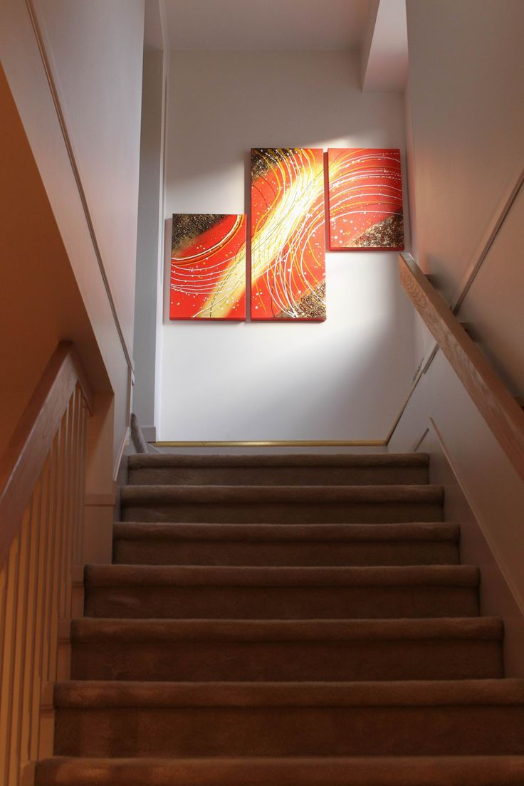 Our Original Abstract Acrylic Paintings are Perfect for Home Decor, Interior Design, Home Staging or Office Renovations!