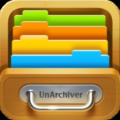 Unarchiver (+File Manager)  By YuFanApp    UnArchiver is a much more capable built-in archive unpacker program for iPhone, iPod touch and iPad. It is designed to handle many more formats, it can also handle filenames in foreign character sets, created with non-English versions of other operating systems.