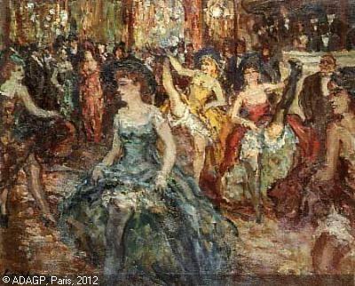 french cancan | COSSON Marcel Jean Louis,Danseuses de French Cancan,Mes Morelle ...