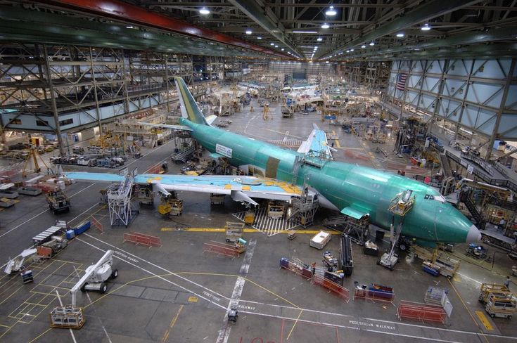 Boeing Everett Factory it is the largest building in the world