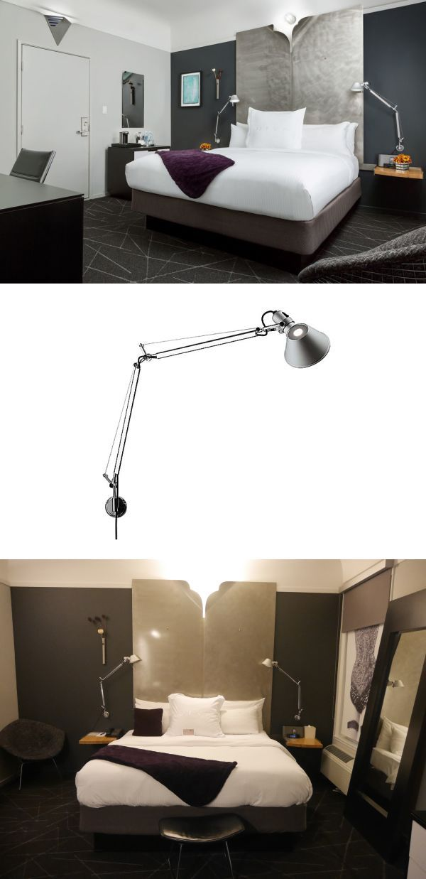 Tolomeo Wall Mount Lamp By Artemide At Hotel Diva Wall Mounted Lamps Unique Light Fixtures Colorful Table Lamp