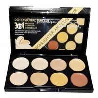 NEW COLOR PROFESSIONAL COUNTURING KISS BEAUTY 3in1-9727