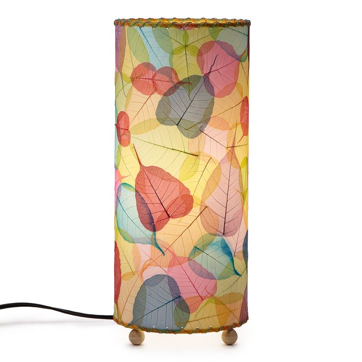 BANYAN LEAF TABLE LAMP | Lighting, Sconce, Shade, Tabletop, Decor, Office, Living Room, Color, Leaf, Nature | UncommonGoods