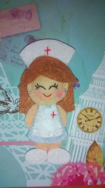 Enfermera muy simpatica