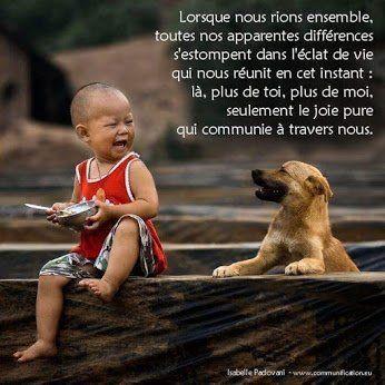 Rions ensemble :) #joie #paix #compassion