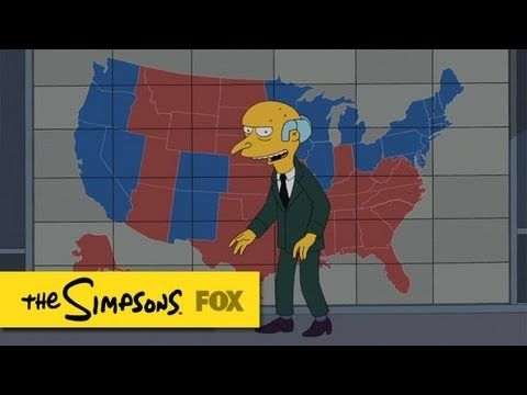 Mr. Burns Endorses Romney | The Simpsons | ANIMATION on FOX