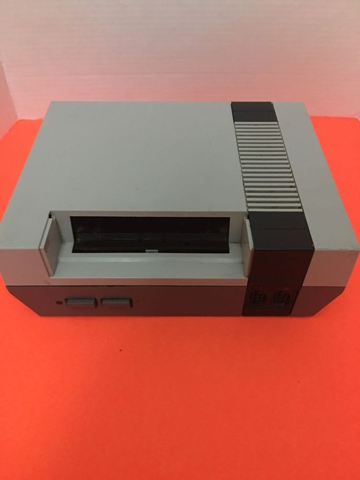 nintendo entertainment system nes001 gray console only as