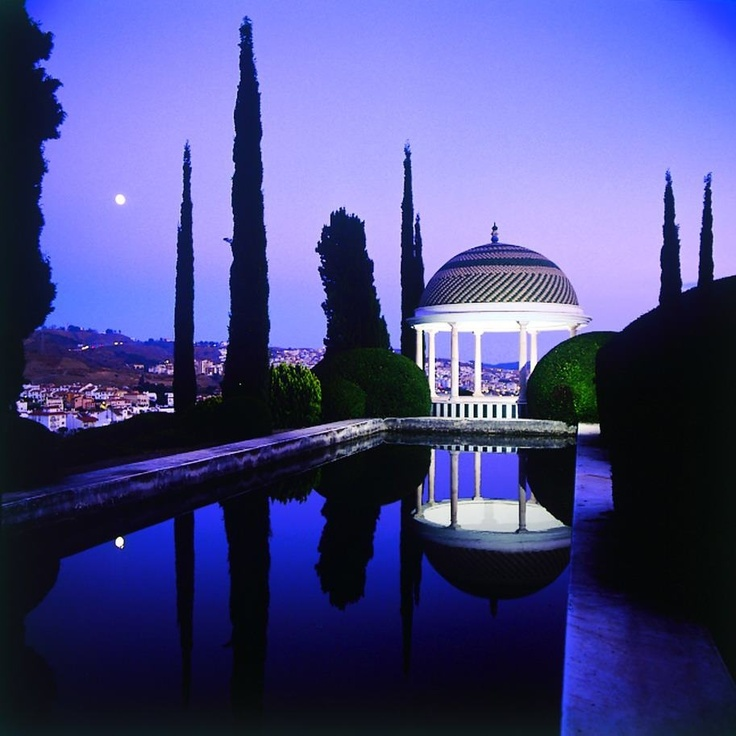 Malaga - Jardin de la Conception