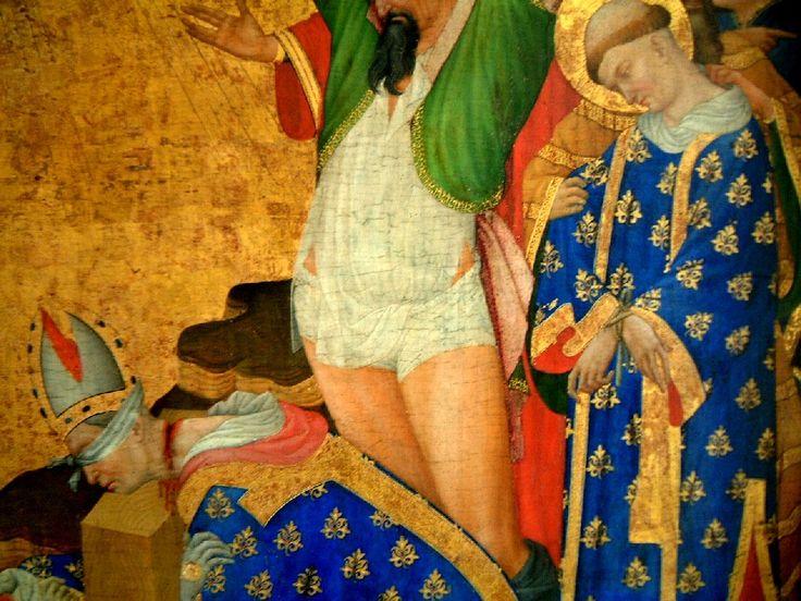 An altarpiece of Saint Denis by Henri Bellechose, 1415-1416