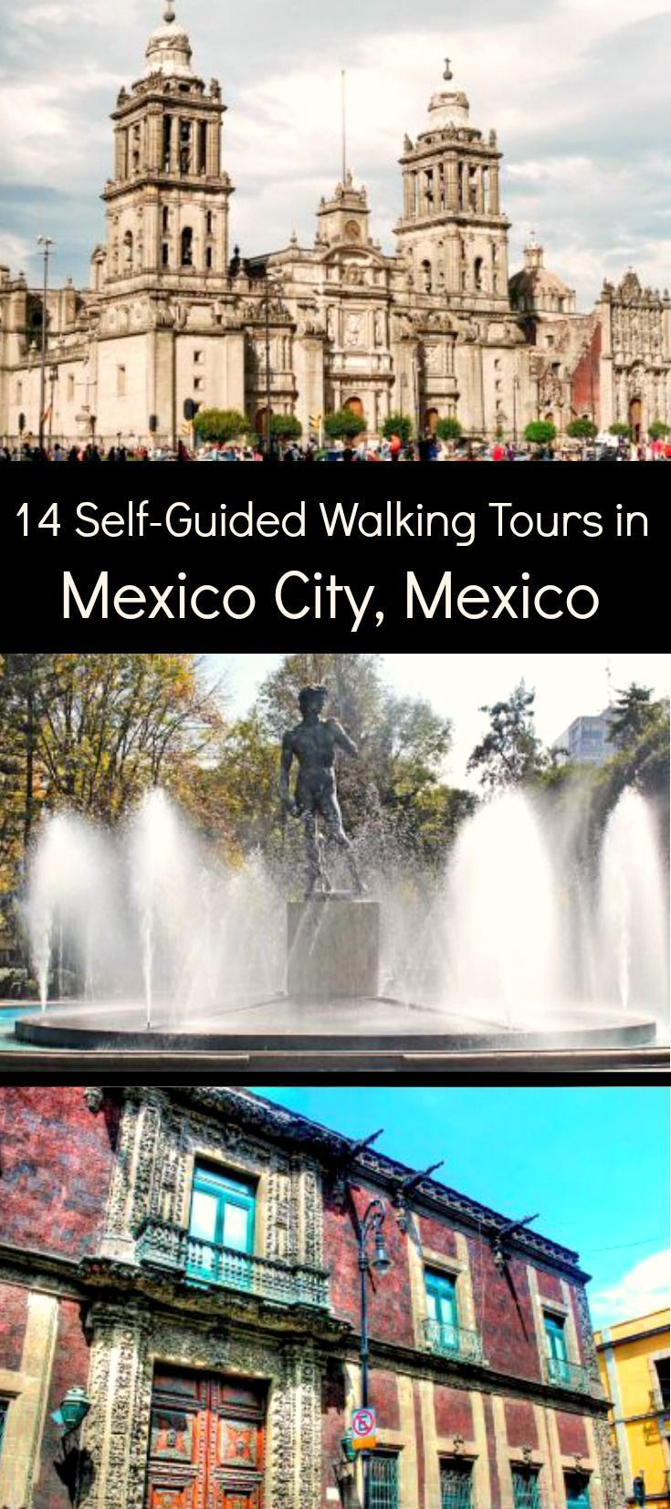Follow these 14 expert designed self-guided walking tours to explore the city on foot at your own pace.