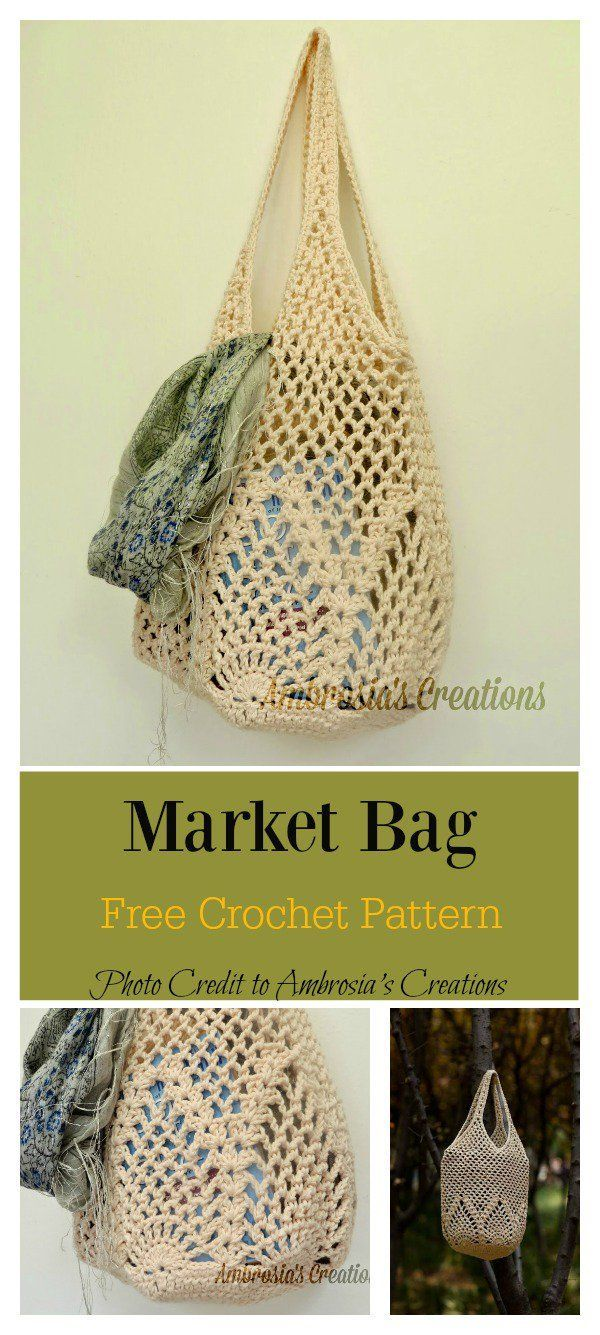 Pineapple Stitch Bag Free Crochet Pattern Crafts Crochet