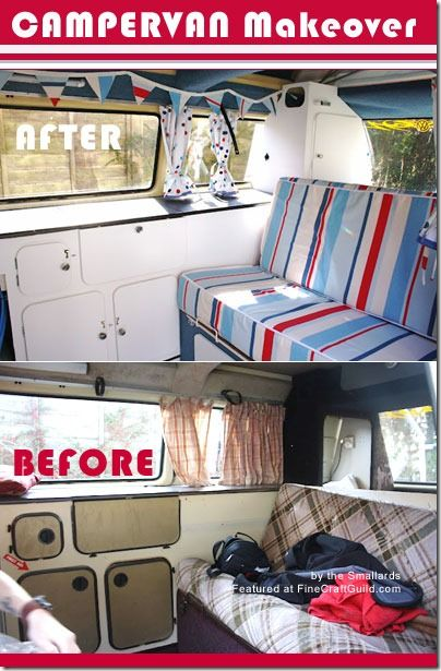 befor and after camper make overs | For lovers of campers: Campervan Makeover!: