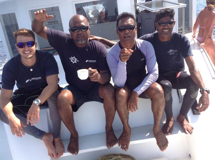 My duke of york- Captain and dive guides